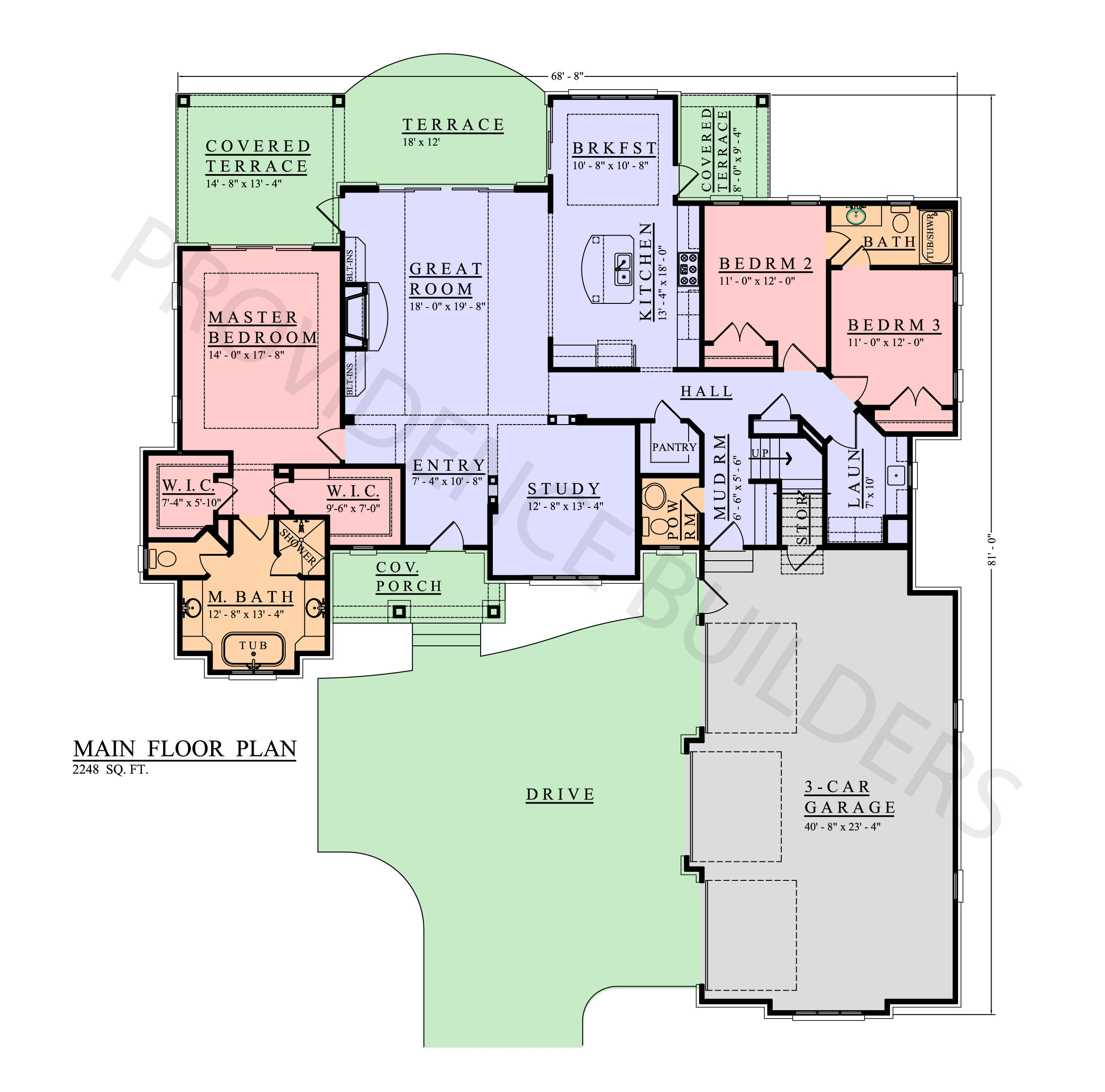 Woodhall II Main Plan