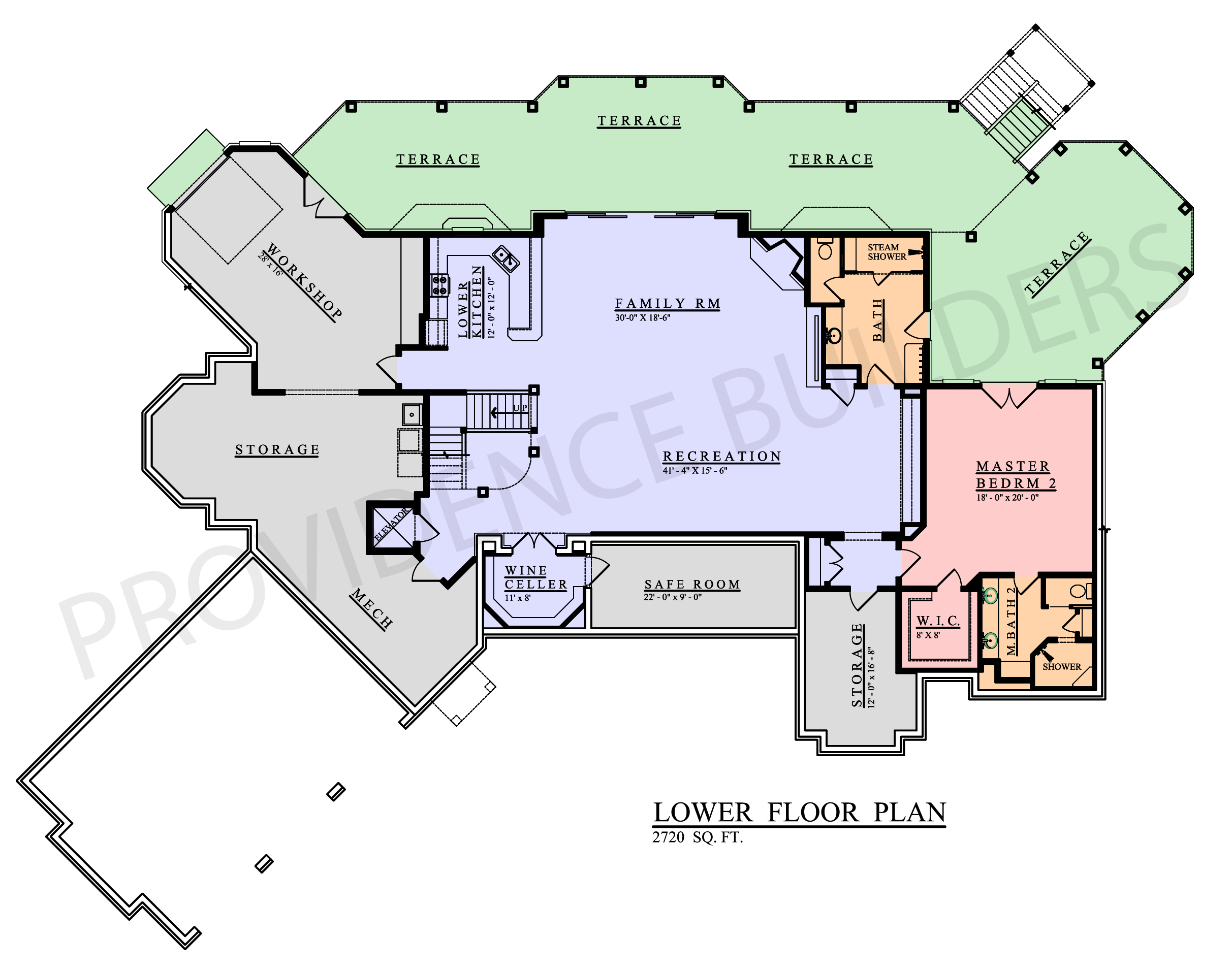 Sauvat Lower Plan