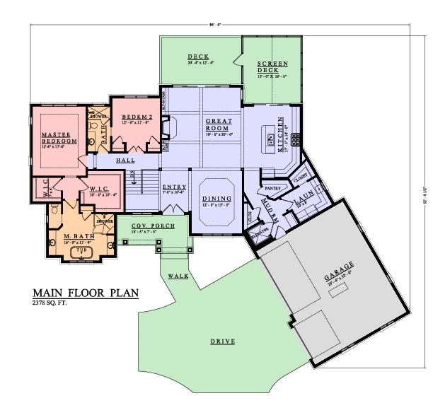 Hampton Main Plan