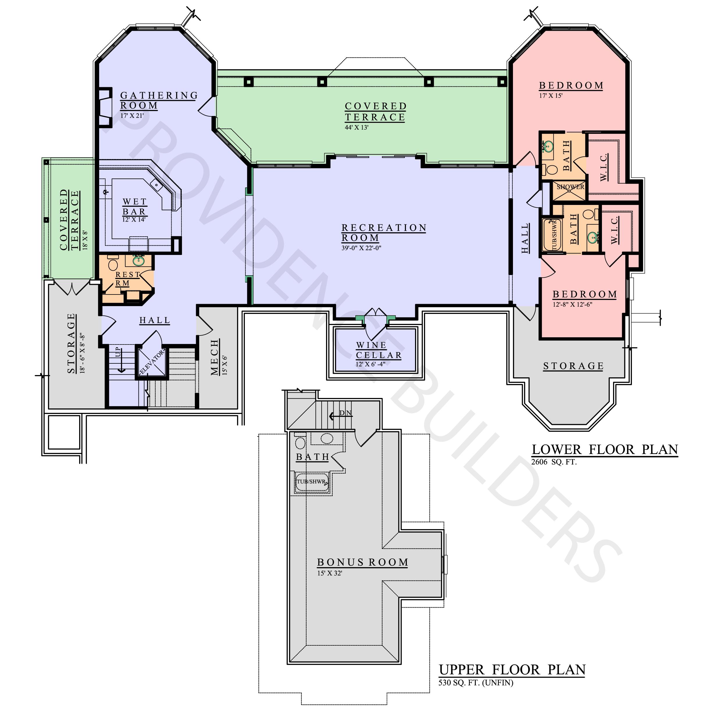 Talmont Upper & Lower Plan