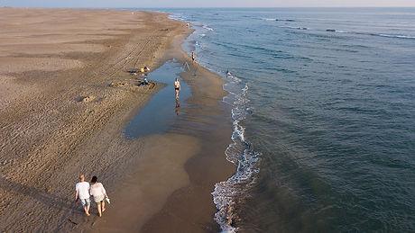 Les plages du Grau du Roi