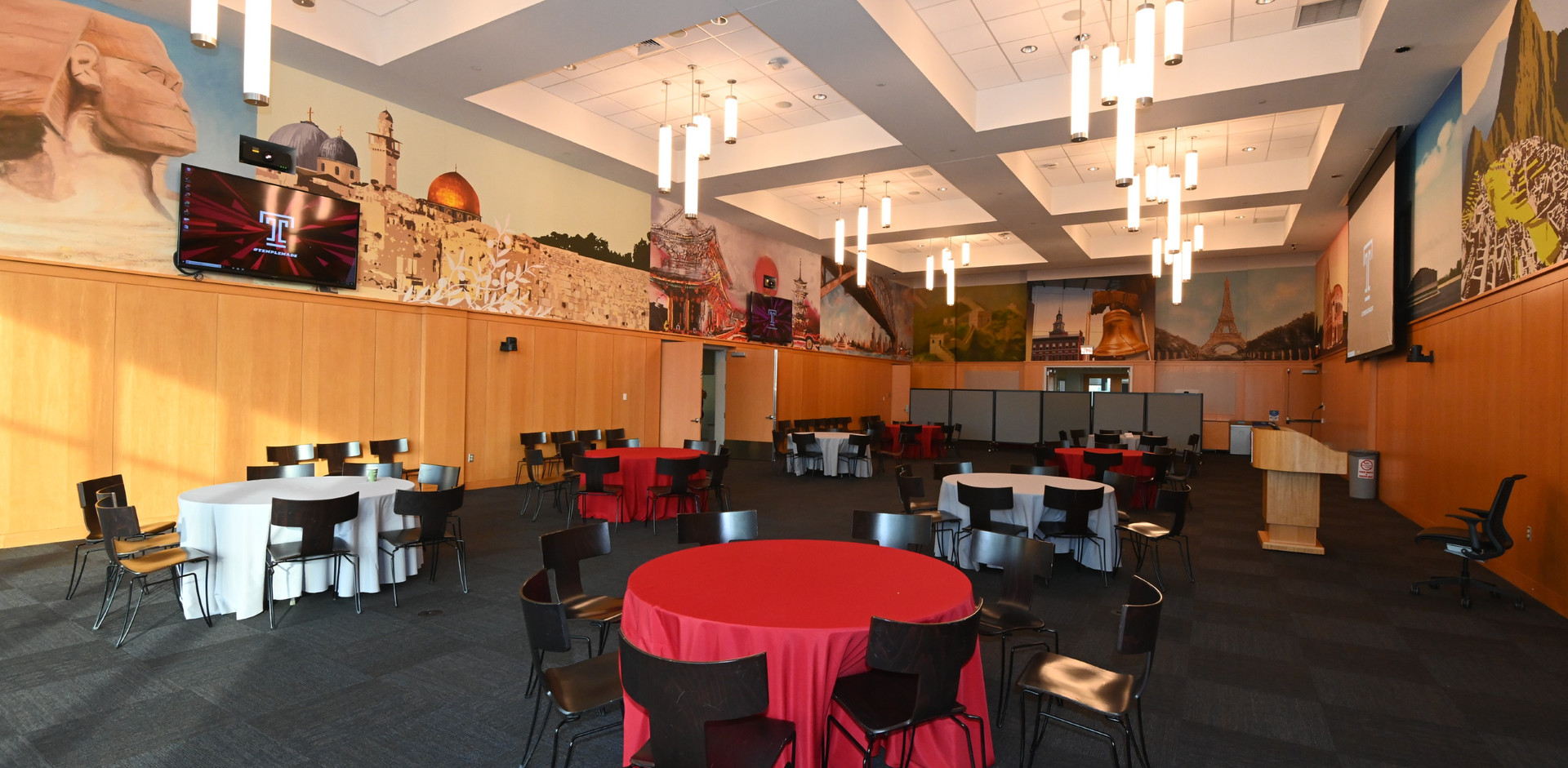 Temple University Alter Hall and Fox Sch