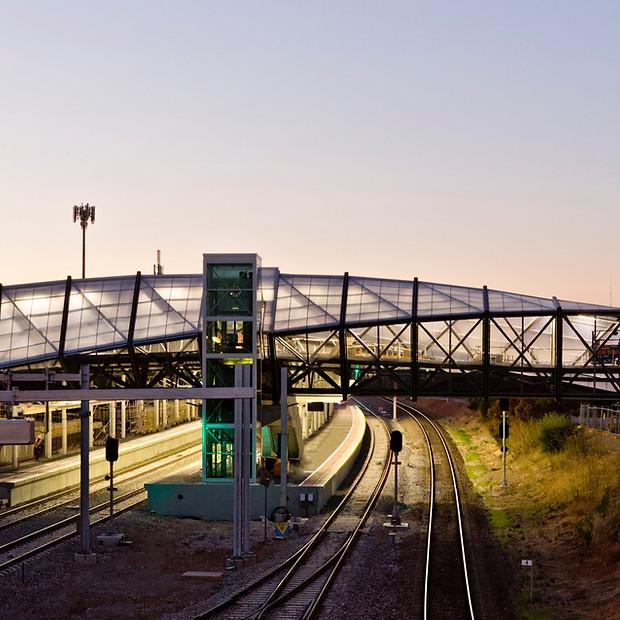 Wayville Railway Station and Overpass
