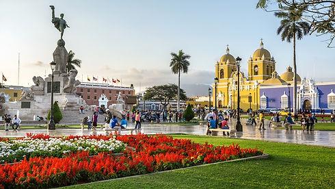 Trujillo, Plaza Mayor, Plaza de Armas