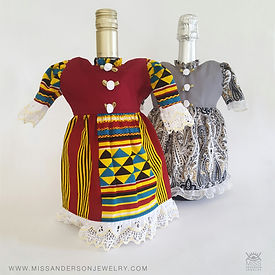 Wine Bottle Dresses