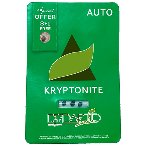 AUTO - KRYPTONITE X3 UNIDADES + 1 GRATIS
