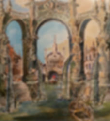 Designs for Baroque and other styles created by Philip Sugg in Sussex (Brighton)