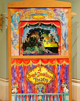 Kippling Theatre created by Philip Sugg & Amanda Davidson