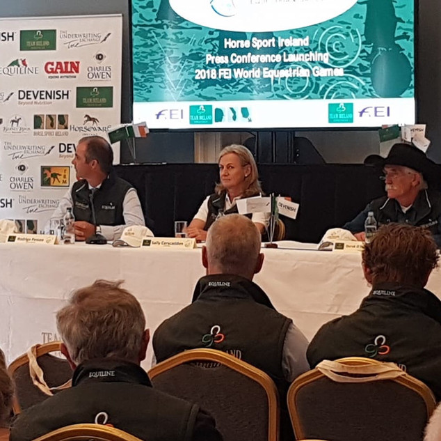 Top Table Press conference WEG