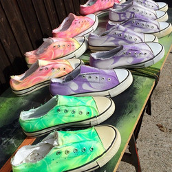 New shoes #shoes Art #shoes #Shirt #design #shirtfever#skulls #cool #party #airbrush #buy #shop #tat