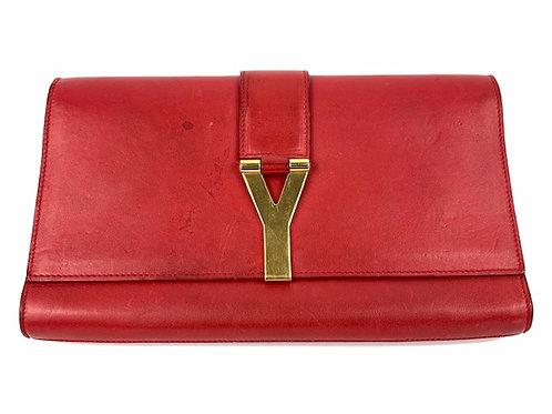 YSL clutch bag, preloved designer bags, Yves Saint Laurent second hand clutch, clutch bags, www.preve.com