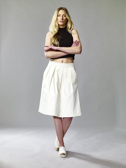Tulip skirt, cotton skirt, womens clothing, summer clothing, www.preve.com