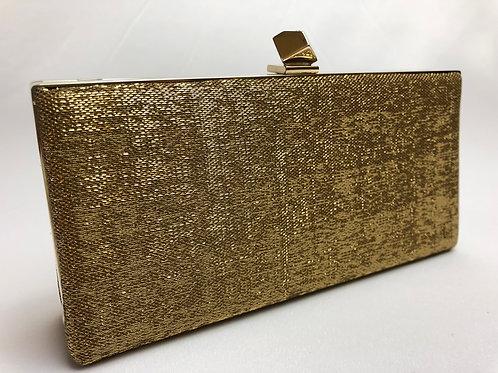 Jimmy Choo evening clutch, gold evening bag, Jimmy choo clutch, designer evening bag, vintage Jimmy Choo