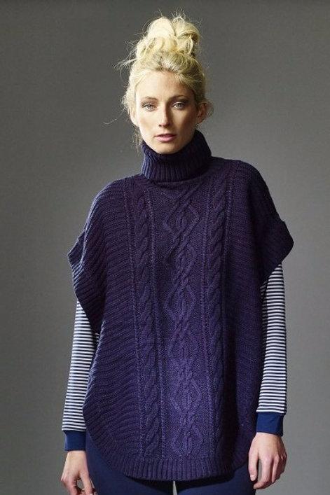 Lara Knitted Cape