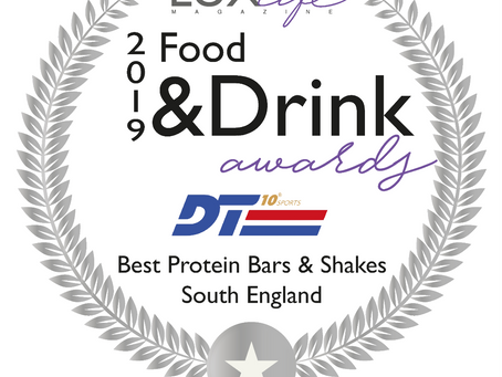 DT10 Awarded Best Protein bars 2019
