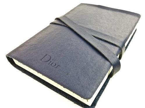 Dior, Christian Dior, Dior notebook, leather notebook, Designer stationery, Preve.com