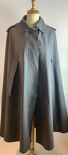 Vintage Givenchy Nouvelle Grey Cape