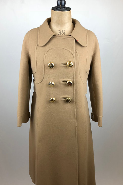 Fleur Cowles Collection by Ello Berhanyer, Ello Berhanyer, Fleur Cowles, Camel Coat, Winter coat, Long Camel coat