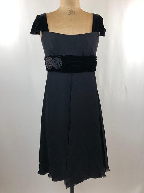 Armani dress, black dress, cocktail dress, vintage clothing, preloved clothing, www.preve.com