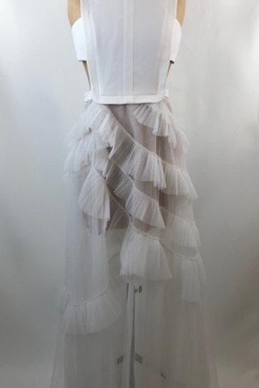 Bcbg Max Azria dress, maxi dress, wedding dress, BCBG, evening dress, white maxi dress, www.preve.com