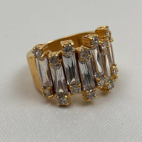 Costume ring, statement costume ring, jewellery, fashion jewellery, vintage costume jewellery