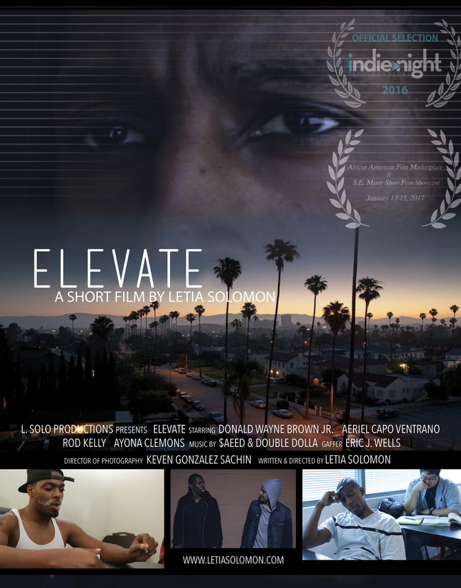 Elevate Short Film screens at the 2017 BHERC African American Film Marketplace & S.E. Manly Shor