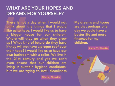 Hopes and dreams for a better future!