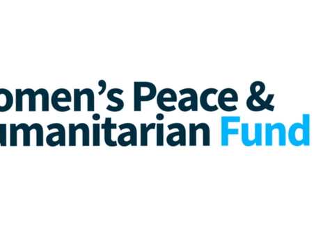 The Women's Peace and Humanitarian Fund will make a real difference in the lives of women !