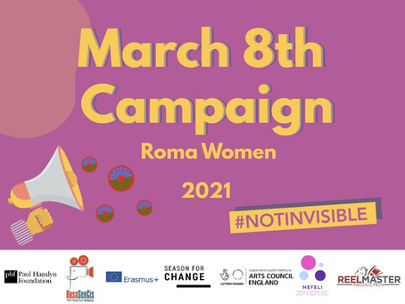 Roma Women 2021 Not Invisible