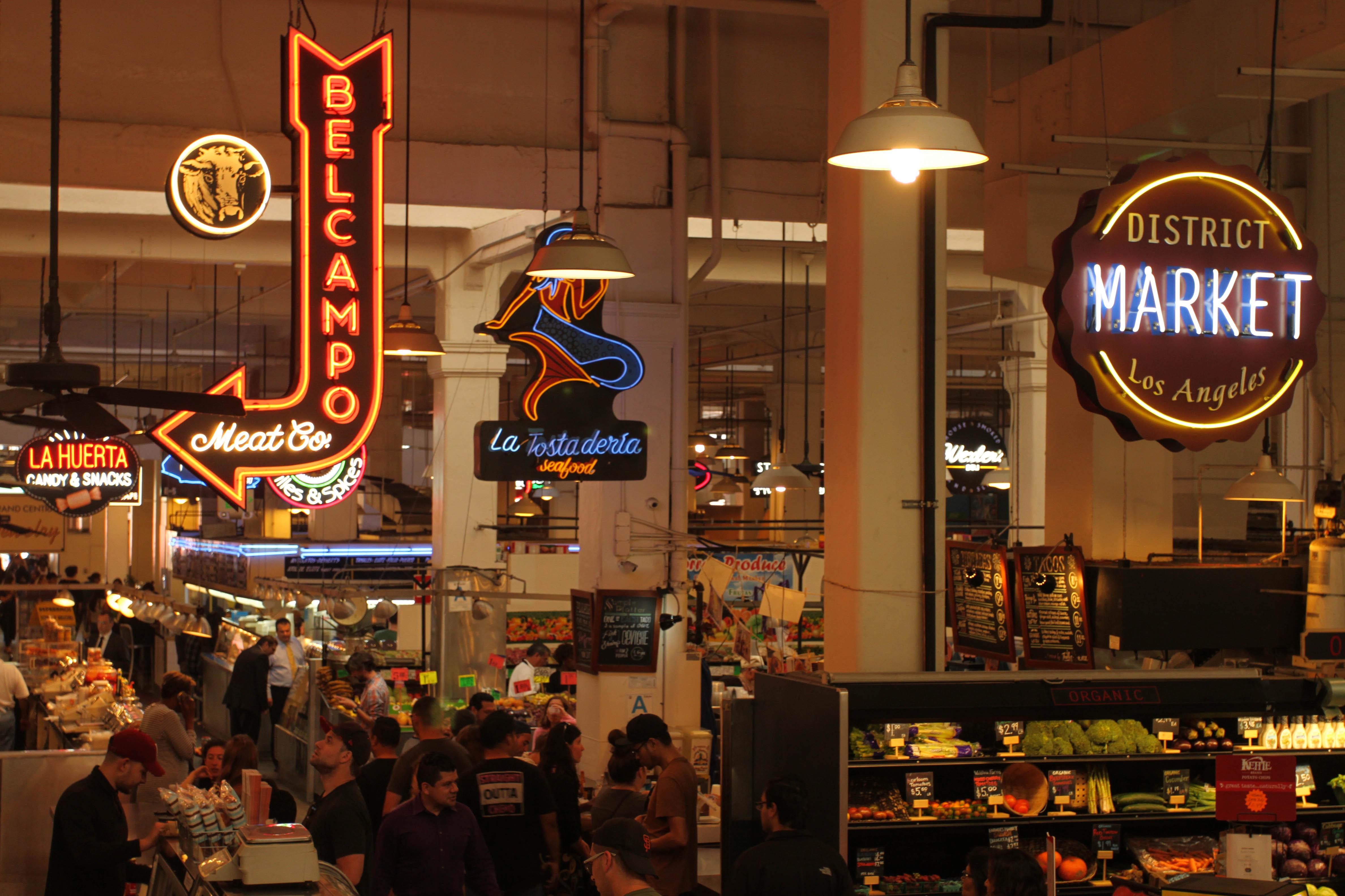Grand Central Market, Ca