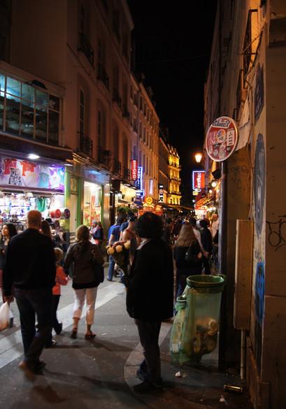 Night in the Quartier Latin