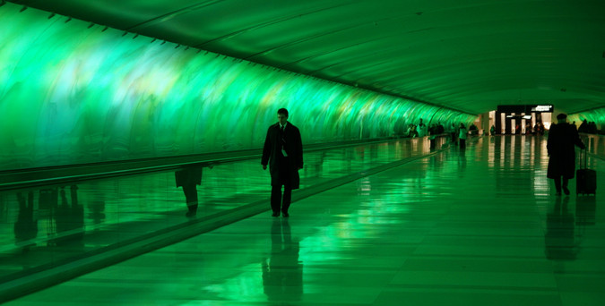 Light Tunnel - Green