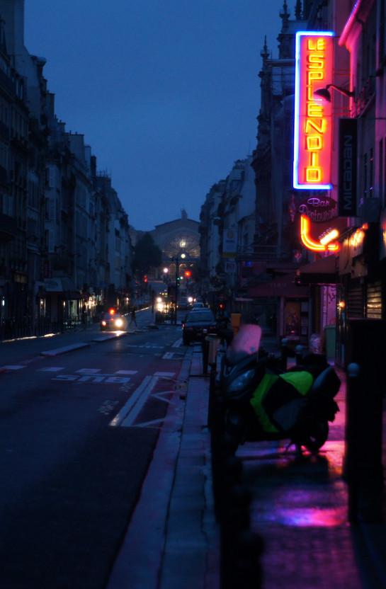 Neon Morning