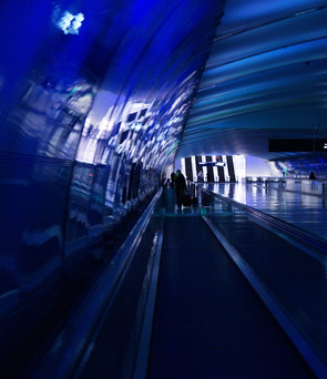 Light Tunnel - Blue