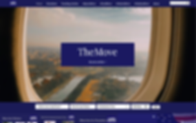 TheMove Website Home Page