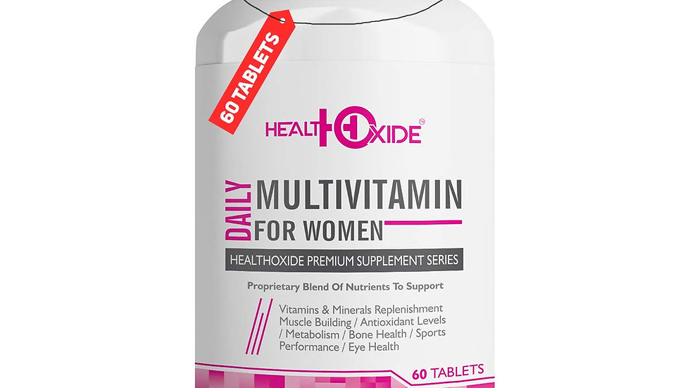 HEALTHOXIDE Multivitamins for Women with 54 total nutrients for daily health