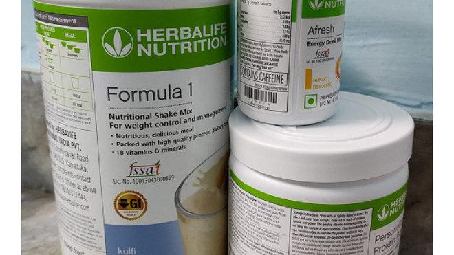Herbalife Weight Loss Package- Kulfi Shake 500gm, Personalized Protein Powder 20