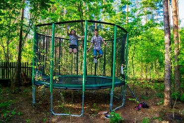 Nasza trampolina dla dorosłych i dla dzieci