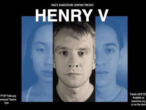 'Henry V' - King's Shakespeare Company