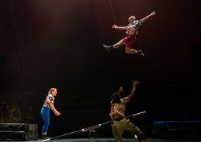 'The Wing Scuffle Spectacular - a celebration of fear' with The Revel Puck Circus