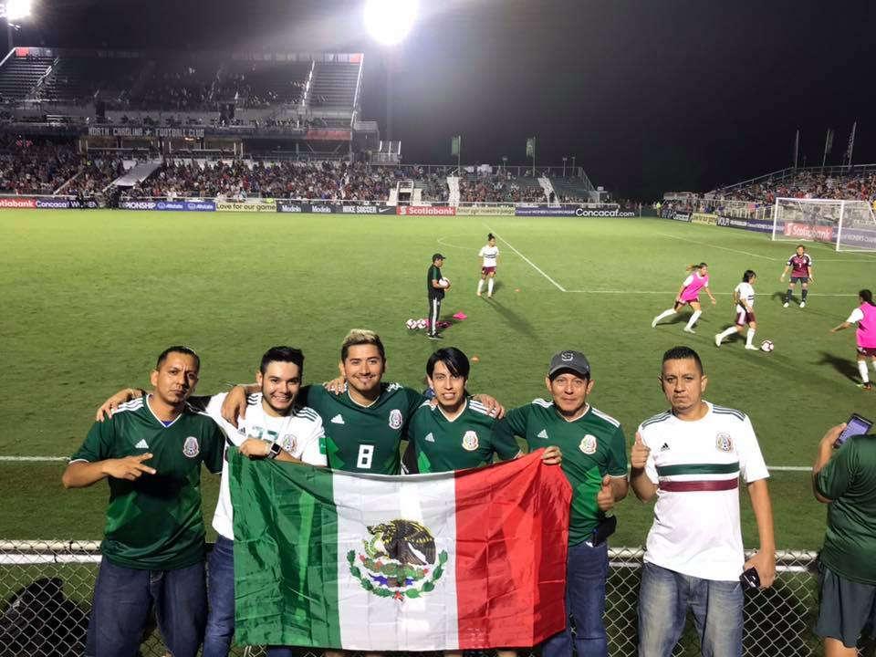 Mexico Soccer Game