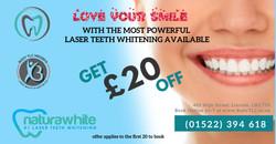 social ad 20 off teeth whitening