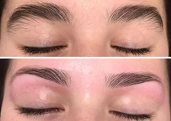 Eyebrow wax at Body TL