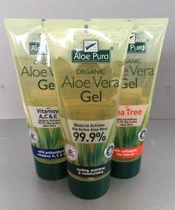 Aloe Vera Gel, ideal post treatment