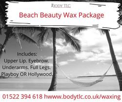 Beach Beauty Wax Package
