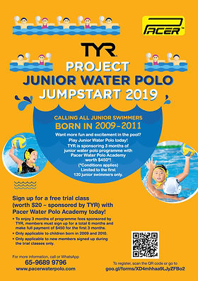 Pacer Water Polo Academy | Singapore