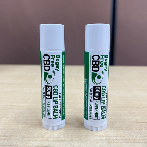 Bogey Free CBD Lip Balm