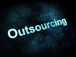 How does the outsourcing trend fit into digitization as a whole?