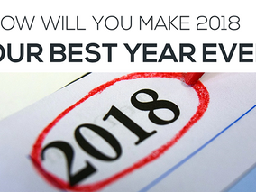 New Year's Resolution: Make 2018 Your Best Business Year