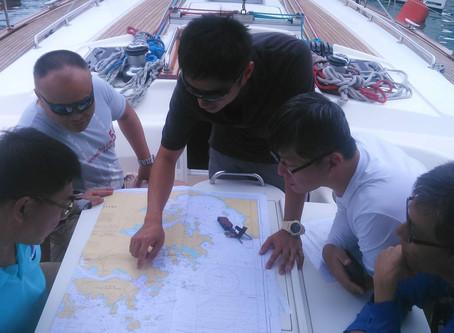 RYA Day Skipper Practical in HK        ( 17/Aug-21/Aug 2018 )